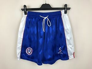 VINTAGE FC CHESTERFIELD 1998/2000 HOME SHORTS FOOTBALL SOCCER