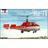 Amodel 7252 KA-18 Soviet Civil Helicopter, 1/72 scale plastic model kit