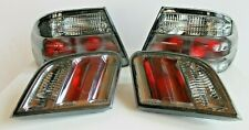 Taillights Mercedes Benz W210 Smoked  Euro Clear  E Class Tail Lights 1996-2001