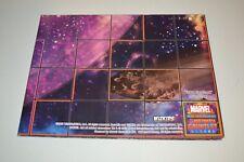 Marvel Heroclix Infinity Gauntlet Space Racetrack & Collector's Ship Maps
