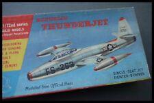 Frog Republic F-84 Thunder Jet Fighter 1:72 scale 1956 Model kit