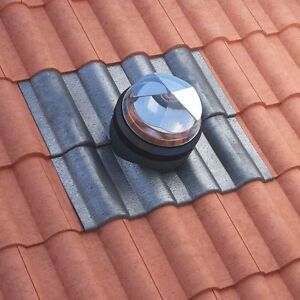 Sun Tunnel Sunpipe - Rigid Sky Light Tube for Tiles & Pitched Roof - 1.2m Long
