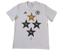 Deutschland Fußball adidas T-Shirt Gr. S Tee 4 Sterne Shirt S88938 DFB neu
