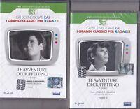 2 Dvd Sceneggiati Rai LE AVVENTURE DI CIUFFETTINO di Yambo completa nuovo 1969