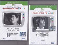 2 Dvd Sceneggiati Rai «LE AVVENTURE DI CIUFFETTINO» di Yambo completa nuovo 1969