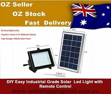 Industrial Grade Solar Powered  Outdoor  Led Flood Light With Remote Control