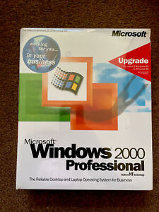 Windows 2000 Professional Boxed B23-00092 Windows 95/98 New old stock