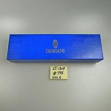 Damiani Blue Jewelry Bracelet Box