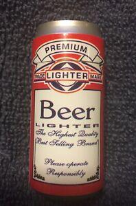 "Vintage Novelty Premium Beer Lighter. 2.25"" tall. 1"" diameter."