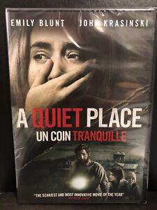 A Quiet Place (DVD, 2018, Widescreen, Bilingual)-Horror
