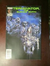 TERMINATOR THE BURNING EARTH #4 JUNE1990 NM- NEAR MINT 9.2 NOW COMICS ALEX ROSS