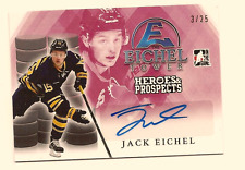 JACK EICHEL 2016-17 LEAF ITG HEROES & PROSPECTS EICHEL TOWER AUTO RED /25