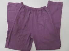 New $122 Democracy Purple Womens Medium Pants