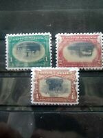 SC 294, 295, 296 1901 Inverted Pan American Expo Stamp Reproduction Place Holder
