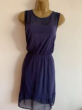 H&M Ladies Stretch Shift Dress Summer Size Medium 12/14