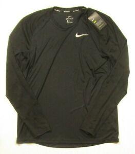 Nike Men's Running Dry Fit Long Sleeve T-Shirt 904665 010