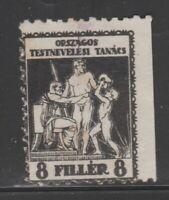 Hungary Cinderella revenue fiscal Stamp 10-11-