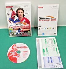 Nintendo Wii -- Winning Eleven Play Maker 2009 -- *JAPAN GAME* 53601