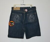 Vintage Billionaire Boys Club BBC Classic Denim Shorts Made In Japan sz L USED