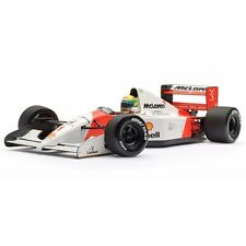 Ayrton Senna MCLAREN Honda MoNaCo MP4/7 92 f1 / car model 1:18 MINICHAMPS