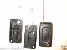 Guscio cover scocca chiave telecomando 2 tasti Citroen C3 C4 C2