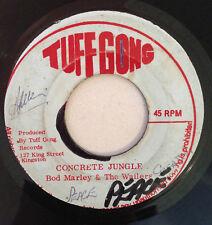 BOB MARLEY & WAILERS - HURTING INSIDE / CONCRETE JUNGLE - TUFF GONG ( REGGAE 7 )