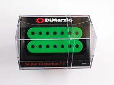 DiMarzio Super Distortion 7 String Bridge Humbucker Green W/Black Poles DP 712