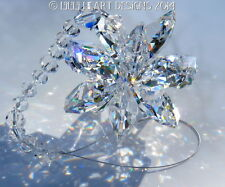 m/w Swarovski BIG Clear 24mm Lily Octagon Star Suncatcher Lilli Heart Designs