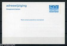 Nederland Adreswijziging Crouwel 50 cent  - POSTFRIS