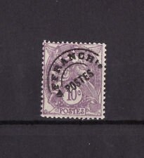 timbre France préoblitéré  Blanc 10c  lilas    n° 43  **