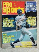 Pro Sports July 1973 Magazine - Rusty Staub on Cover