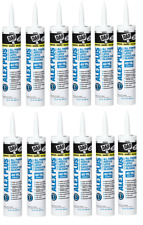 Dap White Alex Plus Acrylic Latex Caulk with Silicone - Paintable (box of 12)
