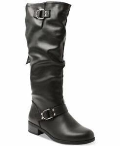 Xoxo Womens Minkler Closed Toe Knee High Fashion Boots, Black, Size 6.0 81cD