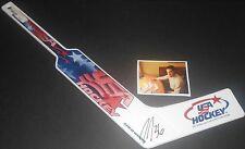 John Gibson Anaheim Ducks Autographed Signed Mini Plastic Goalie Stick A