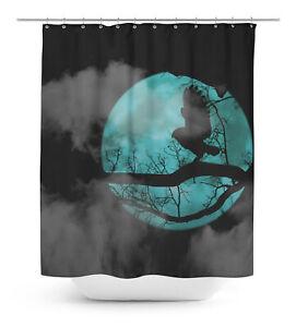 Dog Waterproof Bathroom Shower Curtain RollerRings Hook - DG-SCTD423A