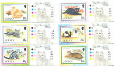 Mint Never Hinged/MNH Cats Jersey Regional Stamp Issues