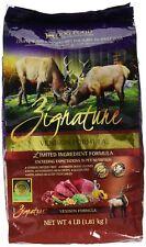 ZIGNATURE Dog Food Venison (4 lb)