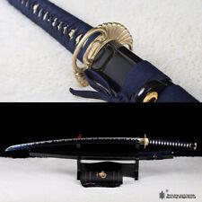 Blue Blade Japanese Samurai katana sword 1095 high carbon steel battle sharp.