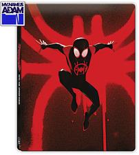 SPIDER-MAN: INTO THE SPIDER-VERSE 3D + 2D + BONUS STEELBOOK (REGION FREE)