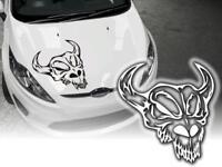 Auto Aufkleber Skull Totenkopf Teufel Devil 15cm OEM JDM Decals Autosticker