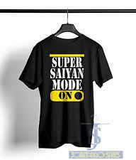 Super Saiyan Mode On T Shirt Dragon Ball Z T Goku Vegeta Nimbus Air Symbol Tee