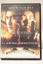 Flaming Brothers alan tang ntsc import dvd English subtitle