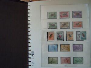 !!! UNGARN Schöne Sammlung 1954 - 1962 50 Seiten Lindner komplett vorw. gestemp