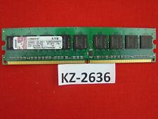 Kingston 1gb ddr2 pc2-4200 ECC 533mhz kvr533d2e4k2/1g cl4 #kz-2636
