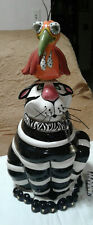 New listing Clancey and Rory Swak signed Lynda Corneille Cookie Jar New Swt Large