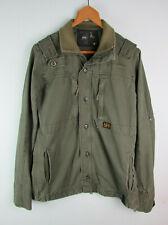 G-STAR - Mens Olive Green 'Arctic Shirt LS' Army Style Jacket - Sz XL - L@@K