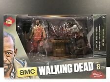 Mcfarlane Toys AMC The Walking Dead Morgan With Impaled Walker & Spike Trap