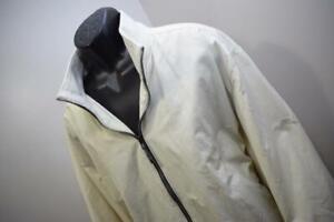Tommy Bahama Windbreaker Golf Jacket Full Zip Marlin Ivory Mens Size 2XL XXL
