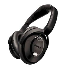 Bose QC15 Noise Cancelling QC 15 TRIPLE BLACK + INLINE CABLE & ADAPTER