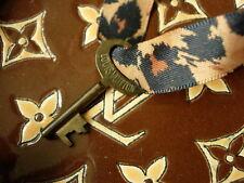 Rare Vintage LOUIS VUITTON Brass TRUNK KEY Speedy Keepall Suitcase Tote Bag